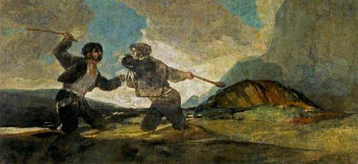 Goya-cudgels